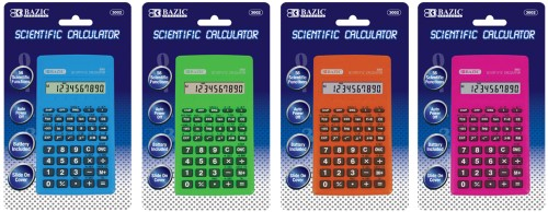 56 FUNCTION SCIENTIFIC CALCULATOR W/CASE