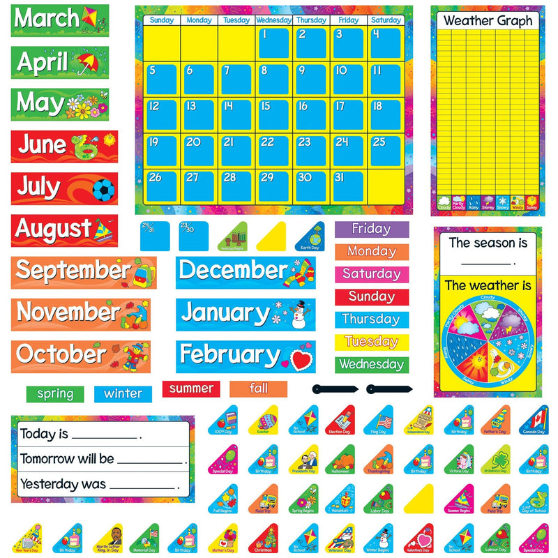 YEAR ROUND CALENDAR BULLETIN BOARD