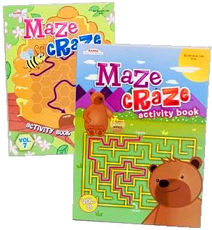 MAZE CRAZE ACTIVITY BOOK