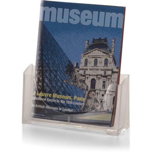 "MAGAZINE/BROCHURE CLEAR HOLDER 8-1/2"" WIDE"