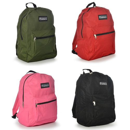 """PROMAX BACKPACK 16"""" 4 ASST COLORS"""