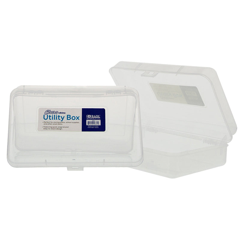 CLEAR MULTIPURPOSE UTILITY BOX