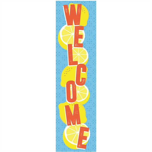 ALWAYS TRY YOUR ZEST WELCOME BANNER 12X45''