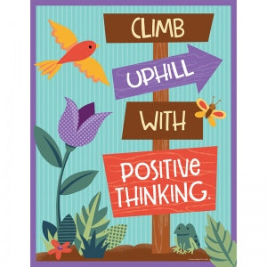 CLIMB UPHILL WITH POSITIVE CHART