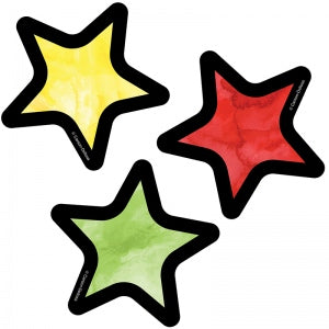STARS MINI CUT-OUTS 32 PC