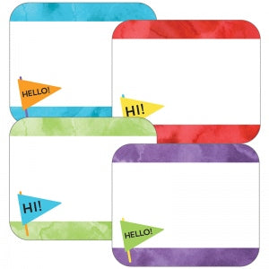 CELEBRATE LEARNING NAME TAGS 40 PC