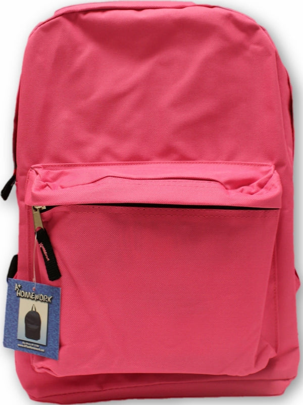 "15"" PINK BACKPACK"