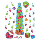 CHRISTMAS ALL-IN-ONE DOOR DECOR KIT 33 PC