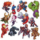 MARVEL SUPER HERO ADVENTURE 2 SIDED DECO KIT