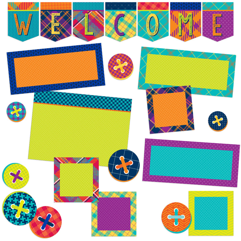 PLAID ATTITUDE WELCOME BULLETIN SET