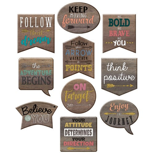 HOME SWEET CLASSROOM POSITIVE ACCENTS 30 PC