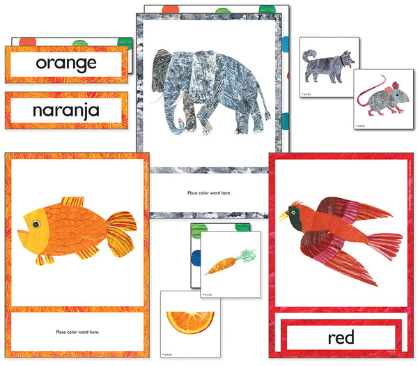 WORLD OF ERIC CARLE COLORSLEARNING CARDS
