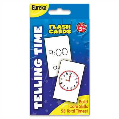 FLASHCARD TELLING TIME
