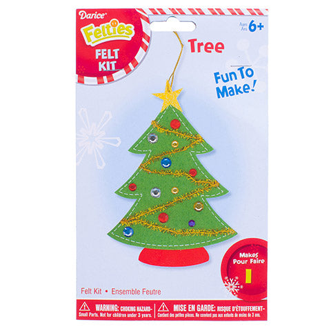 FELTIES CHRISTMAS TREE ACTIVITY KIT