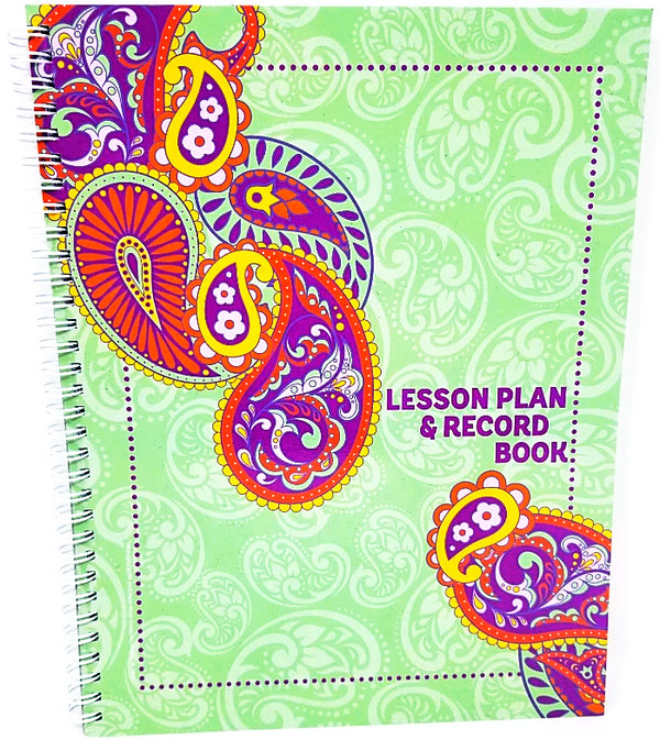 POSITIVELY PAISLEY LESSON PLAN AND RECORD BOOK