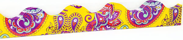 POSITIVELY PAISLEY YELLOW PAISLEY BORDER 37FT