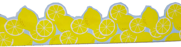 ALWAYS TRY YOUR ZEST LEMON DECO BORDER