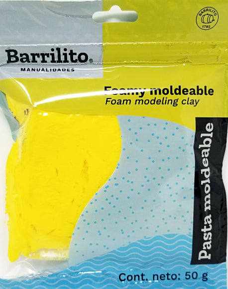 FOAMY MOLDEABLE AMARILLO 50GR.