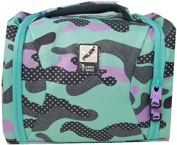 LUNCH BAG BLUE CAMOUFLAGE