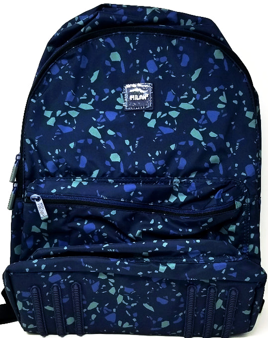 LARGE BACKPACK GALACTIC TERRAZO BLUE