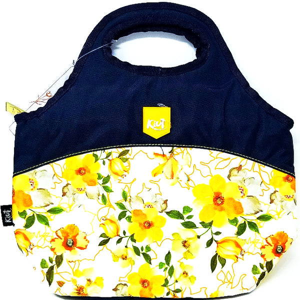 LUNCH BAG KIUT YELLOW FLOWER