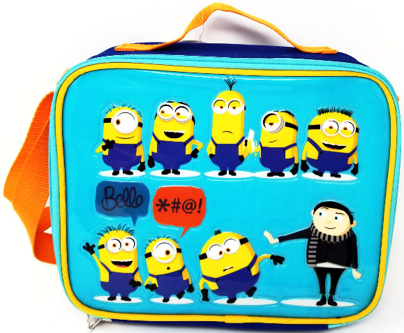 LUNCH BAG MINIONS 2 RECTANGULAR