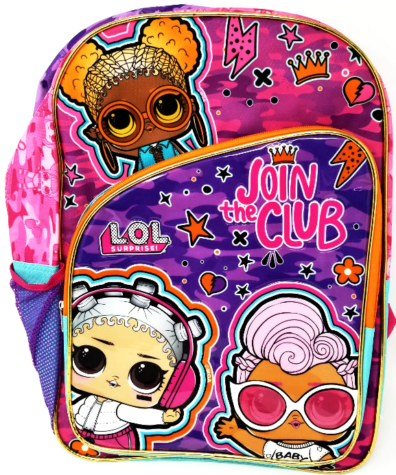 BACK PACK PRIMARY LOL SURPRISE 17""