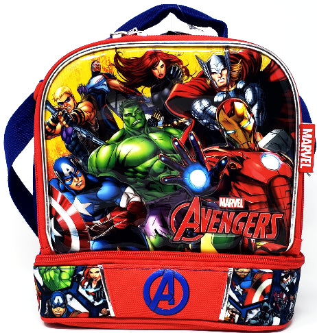 LUNCH BAG AVENGERS DOUBLE COMPARTMENT