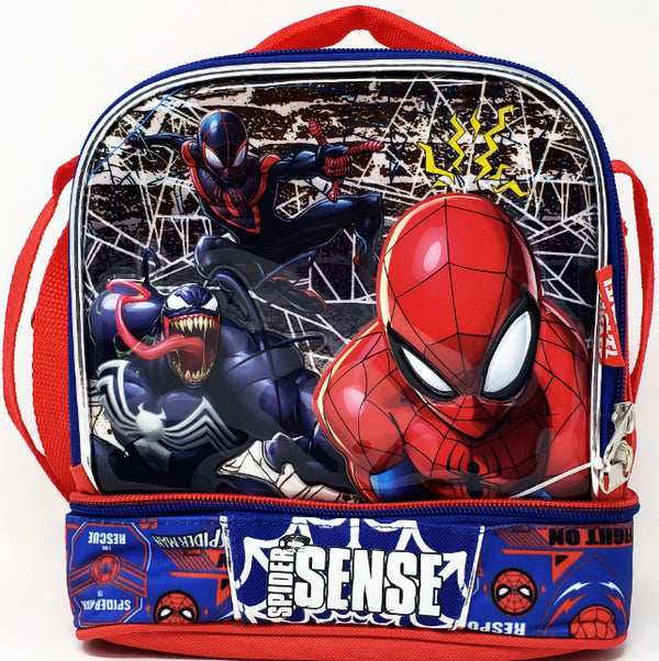 LUNCH BAG SPIDERMAN DOUBLE COMPARTMENT