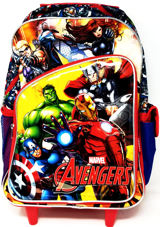 ROLLING BACKPACK PRIMARY AVENGERS 17""