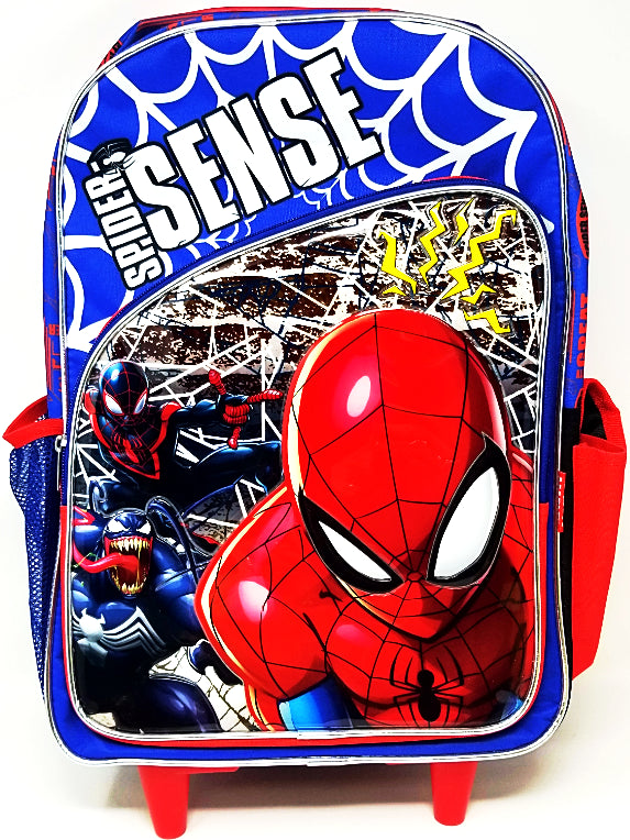 ROLLING BACKPACK PRIMARY SPIDERMAN 17""