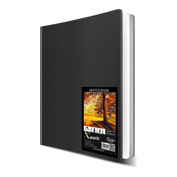 DOUBLE WIRE BINDING 110 GSM BLACK COVER
