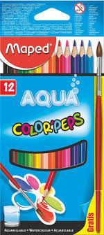 AQUA COLOR PEPS 12/1 + PINCEL