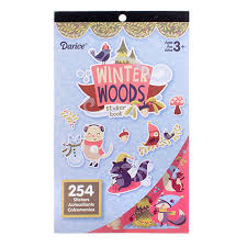 STICKER BOOK WINTER WOODLAND