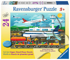 PREPARING TO FLY PUZZLE 24PCS