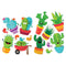 A SHARP BUNCH 2 SIDED DECORATIONS 14PCS