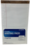 LEGAL PAD WHITE PQT.12 20363