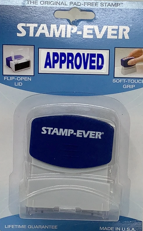 STAMP-EVER APPROVED