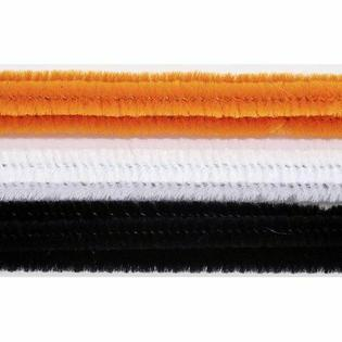 CHENILLE STEMS - 6MM - HALLOWEEN - 100 PIECES
