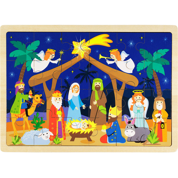 NATIVITY PUZZLE 24 PCS