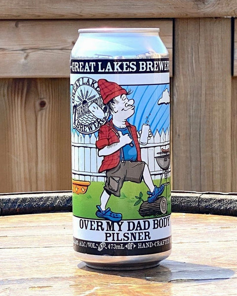 Great Lakes Brewery Over My Dad Body Pilsner