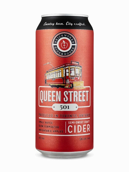 Brickworks Queen Street 501 Semi-Sweet Craft Cider