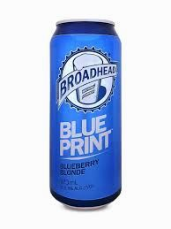 Broadhead Blue Print Blueberry Blonde