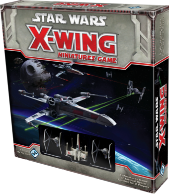 Star Wars X-Wing Minature Game