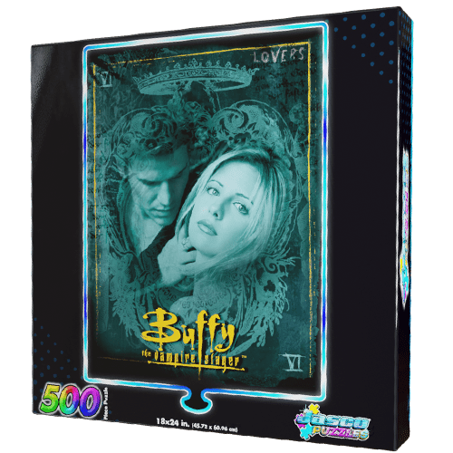500 Buffy The Vampire Slayer Foil Puzzle: Lovers Collector's Edition