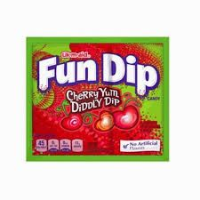 Fun Dip Cherry Yum Diddly Dip Single
