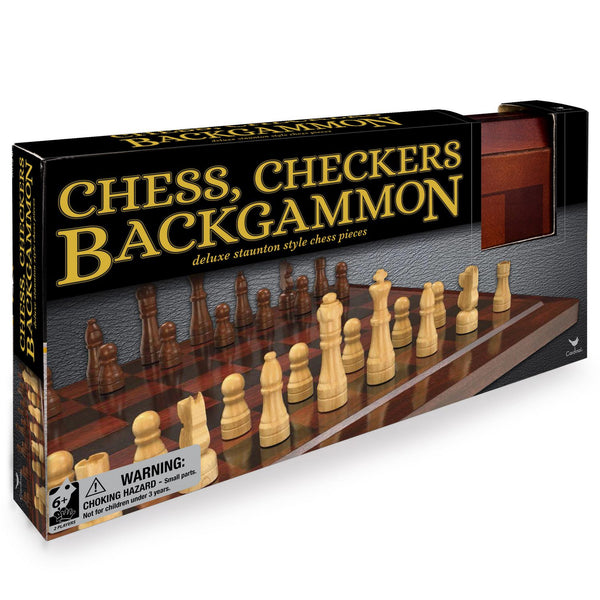 Traditions Chess, Checkers and Backgammon