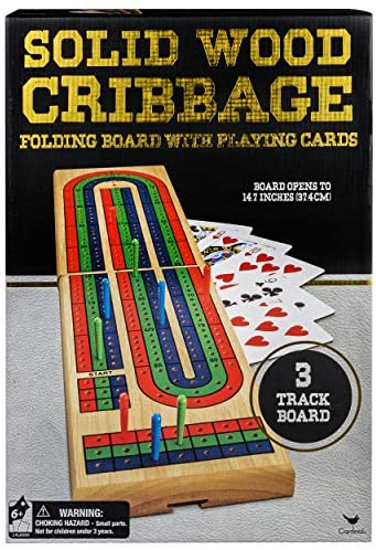 Solid Wood Cribbage