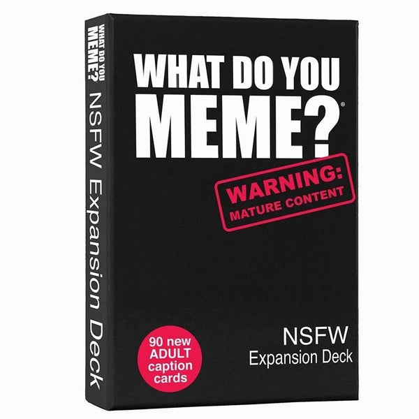 What Do You Meme: NSFW Expansion