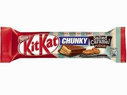 Nestle Kit Kat Chunky Salted Caramel Fudge